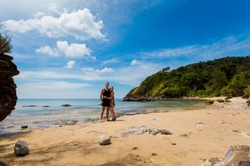 Tourist on koh Lanta island