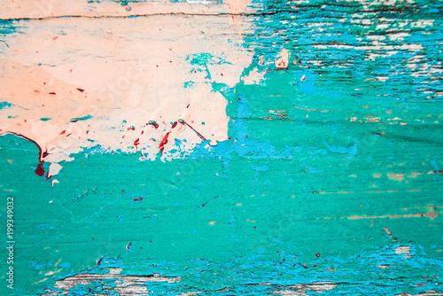 Blue Vintage Wooden Texture
