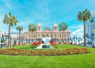 Grand Casino Monte Carlo landmark Monaco French riviera