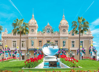 Grand Casino Monte Carlo landmark Monaco French riviera