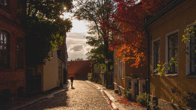 Old street in Lund
