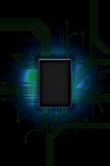 Design of computer chip processor
