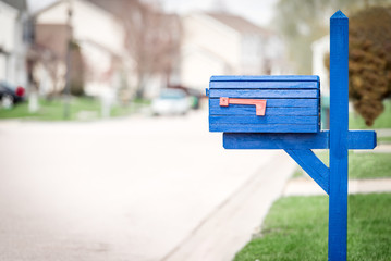 Mail box in the united states