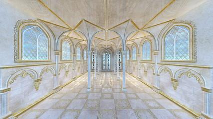 宮殿の廊下