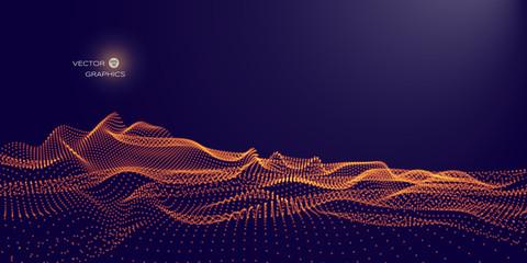 vector digital landscape