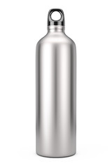 Aluminum Bike Water Sport Bottle Mockup. 3d Rendering
