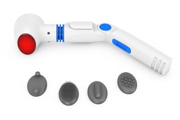 Electric Massager with Nozzles and Heater. 3d Rendering