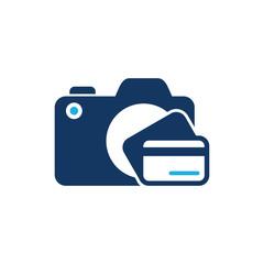 Payment Camera Logo Icon Design