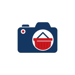Shop Camera Logo Icon Design