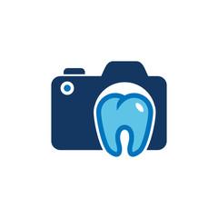 Dental Camera Logo Icon Design