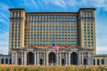 Michigan Central Railway Station