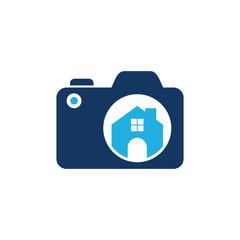 Home Camera Logo Icon Design