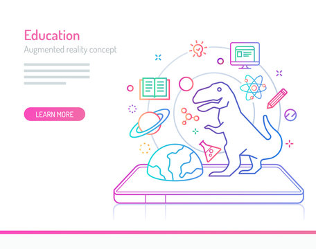 Augmented Reality Concept - Education