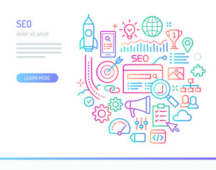 SEO conceptual illustration