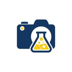 Lab Camera Logo Icon Design