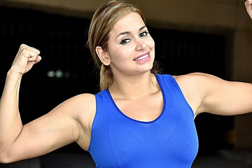 Muscular Colombian Teenager Female
