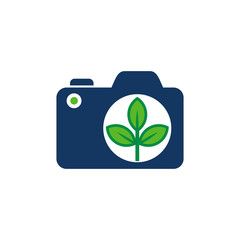 Eco Camera Logo Icon Design
