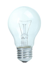 One incandescent bulb