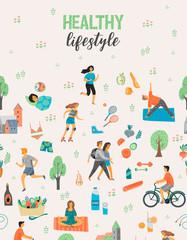 Healthy lifestyle. V