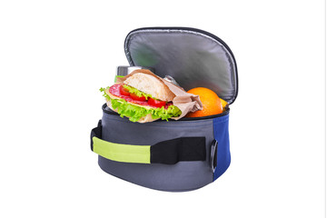 Lunch in a bag for lunch.