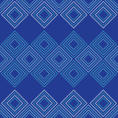Seamless geometric pattern. The texture of rhombus. Drops texture. Textile rapport.