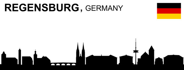 Regensburg, Skyline
