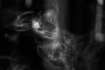 Real smoke hi-res texture for designers