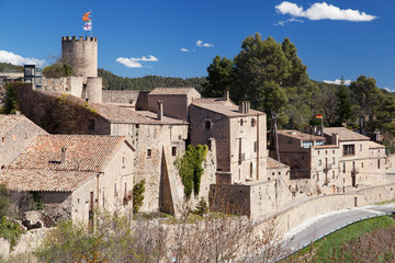 Castle and Village of Talamanca