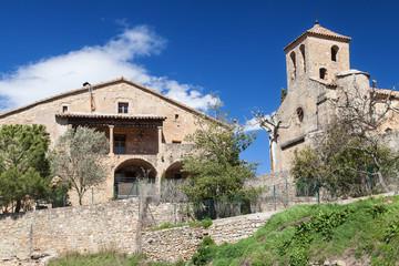 Masia and Church of Talamanca