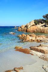 Spiaggia Capriccioli, Costa Smeralda, Sardinien