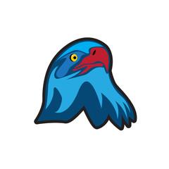 eagle head vector logo