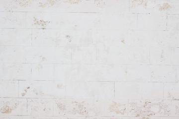Текстура старой белой стены, камень