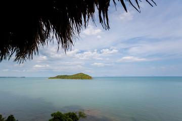 Seascape on Koh Lanta island