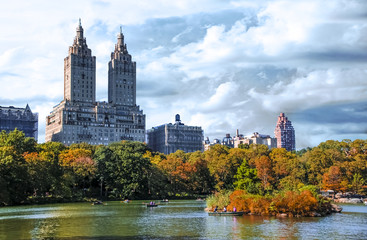 New York City Central Park With Beautiful Nature