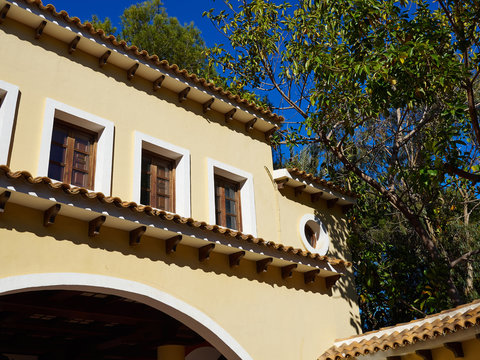 Traditional Spanish style house real estate Spain