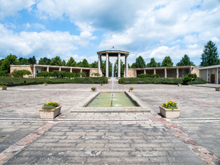 Lidice memorial, in memory of Lidice village that was destroyed by Nazis in 1942, Czech Republic.