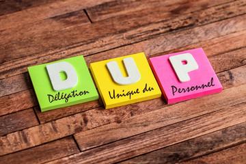 post-it acronyme : DUP