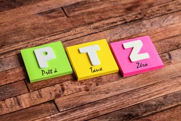 post-it acronyme : PTZ