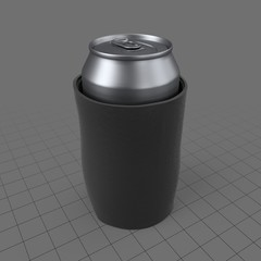 Can with insulator