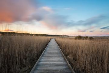 Bodie Island Lighthouse Walkway