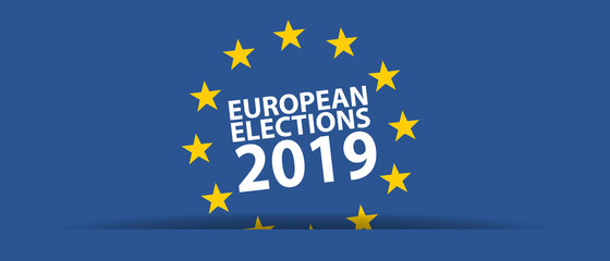 European Election 2019 - Vector Illustration