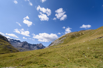 Espectaculares paisajes en las dolomitas