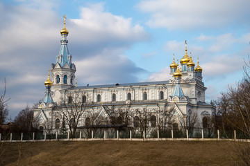 Wall Mural - Saints Boris and Gleb Cathedral is the main Orthodox church in Daugavpils,