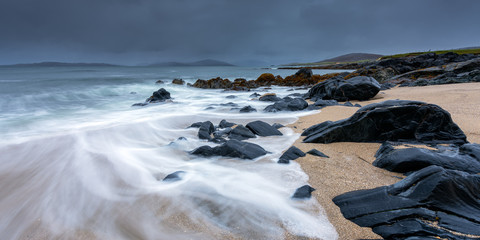 Isle of Harris Beach, Outer Hebrides, Scotland, United Kingdom, Europe
