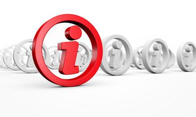Info Sign Information Symbol Concept