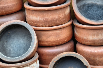 Traditional handmade casseroles in Goreme, Cappadocia.