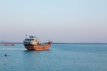 Launch in Persian Gulf, Qeshm, Iran