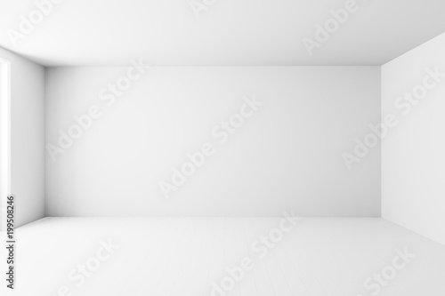 Quot Blank White Interior Room Background Empty White Walls