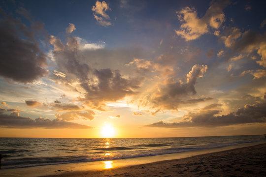 West coast of Florida sunset