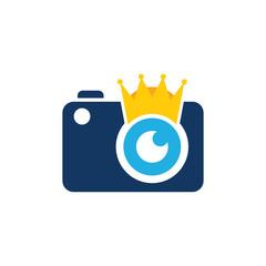 Camera King Logo Icon Design